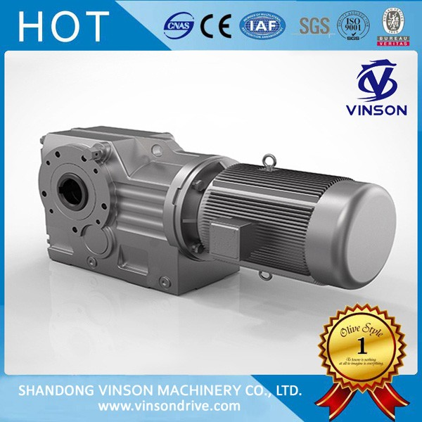 K bevel helical gearbox
